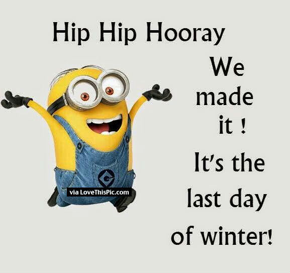 We Made It Its The Last Day Of Winter Pictures, Photos