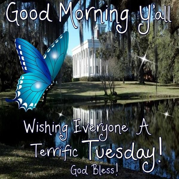 Good Morning Wishing Everyone A Happy Tuesday