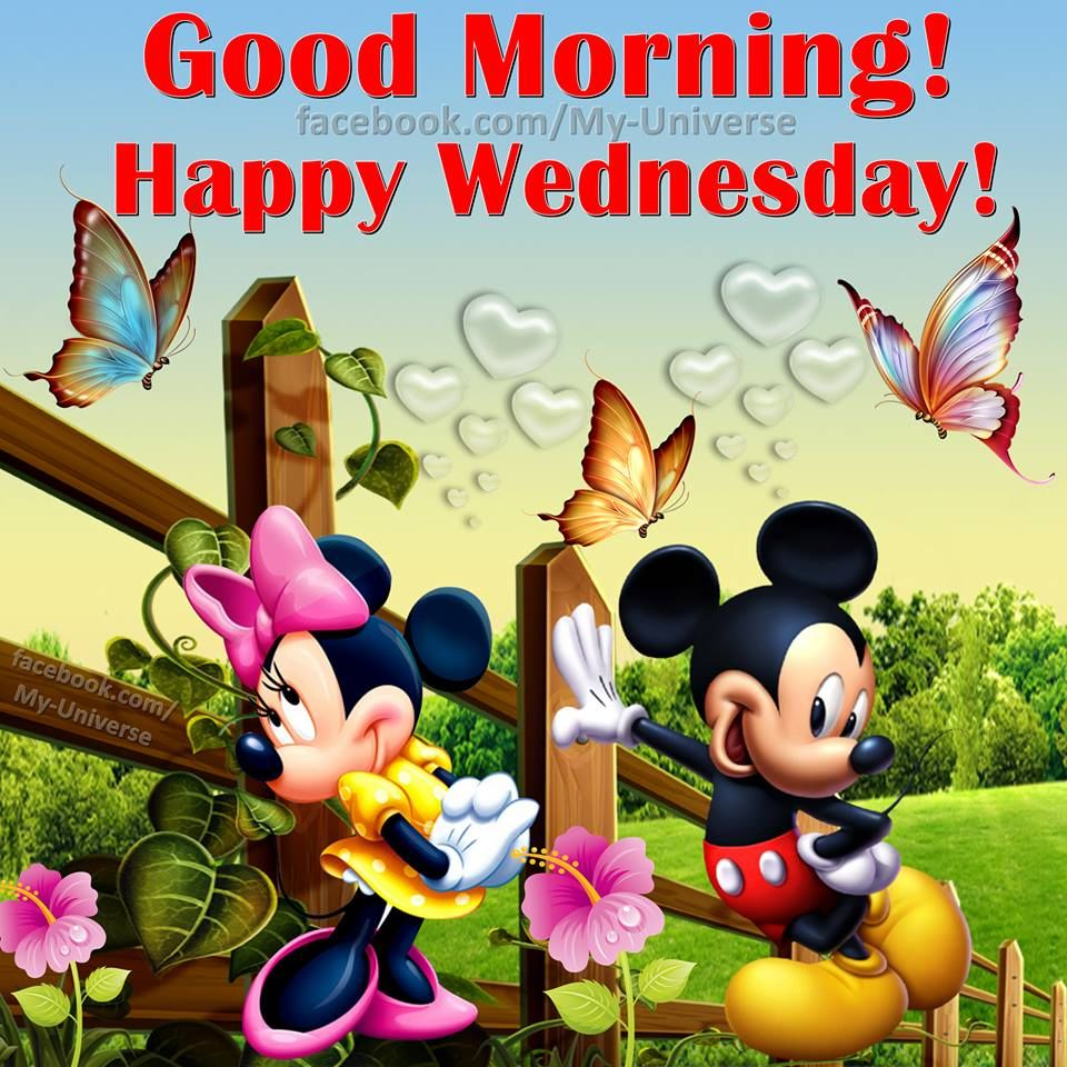 Good Morning Happy Wednesday Disney Quote Pictures, Photos