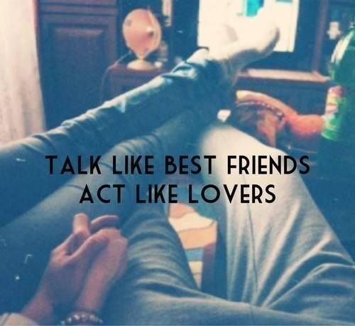 Talk Like Bet Friends Act Like Lovers Pictures, Photos