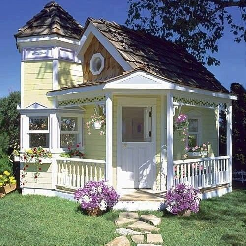 Adorable mother in law house pictures photos and images for Mother in law cottage log cabin