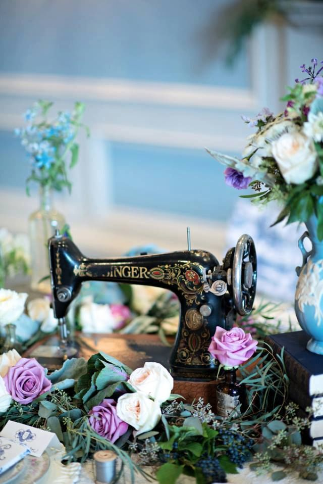 vintage sewing machine pictures photos and images for