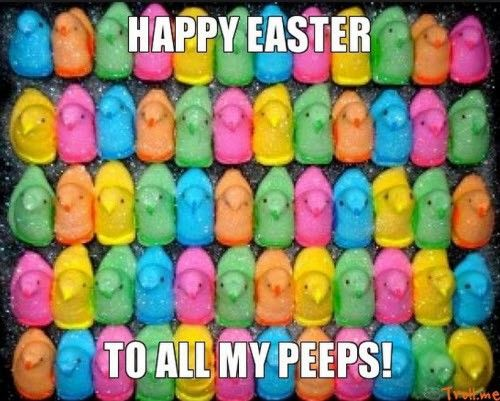 Happy Easter To All My Peeps Pictures Photos And Images For