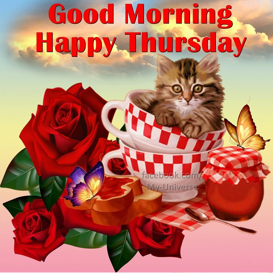 Good Morning Happy Thursday Quote Pictures, Photos, and ...