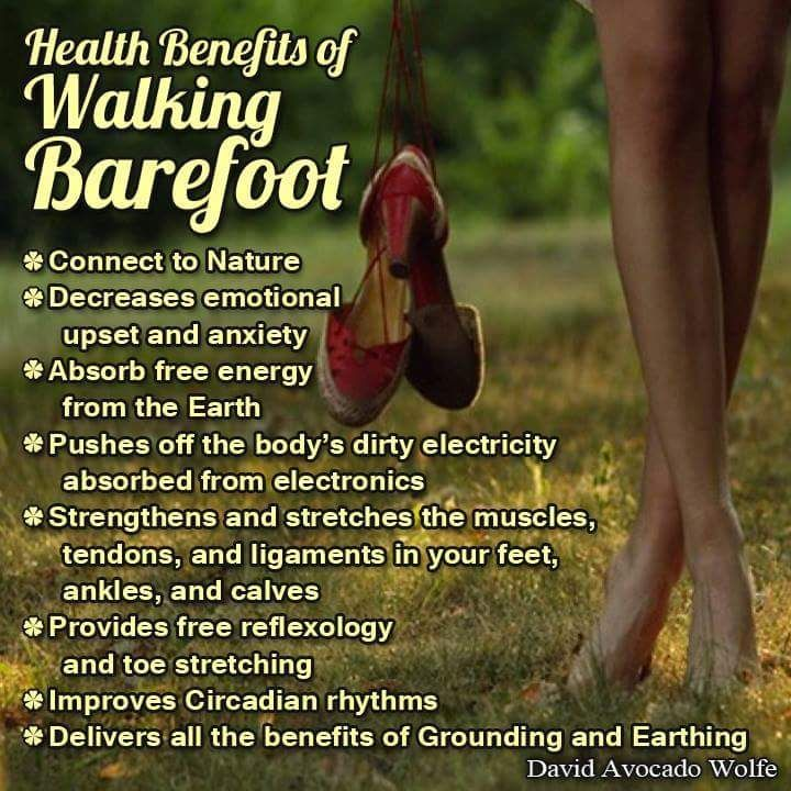 Health Benefits Of Walking Barefoot Pictures Photos And