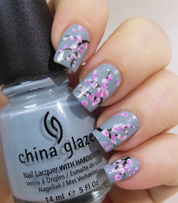 Sakura Nail Art Pictures, Photos, and Images for Facebook, Tumblr ...