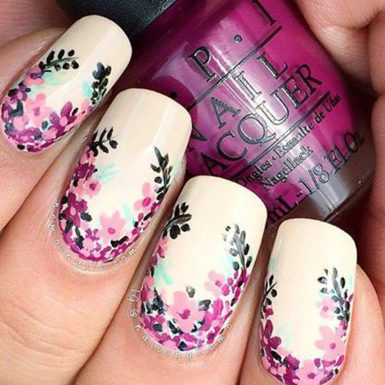 Pink Blossom Nail Art Pictures, Photos, and Images for Facebook ...