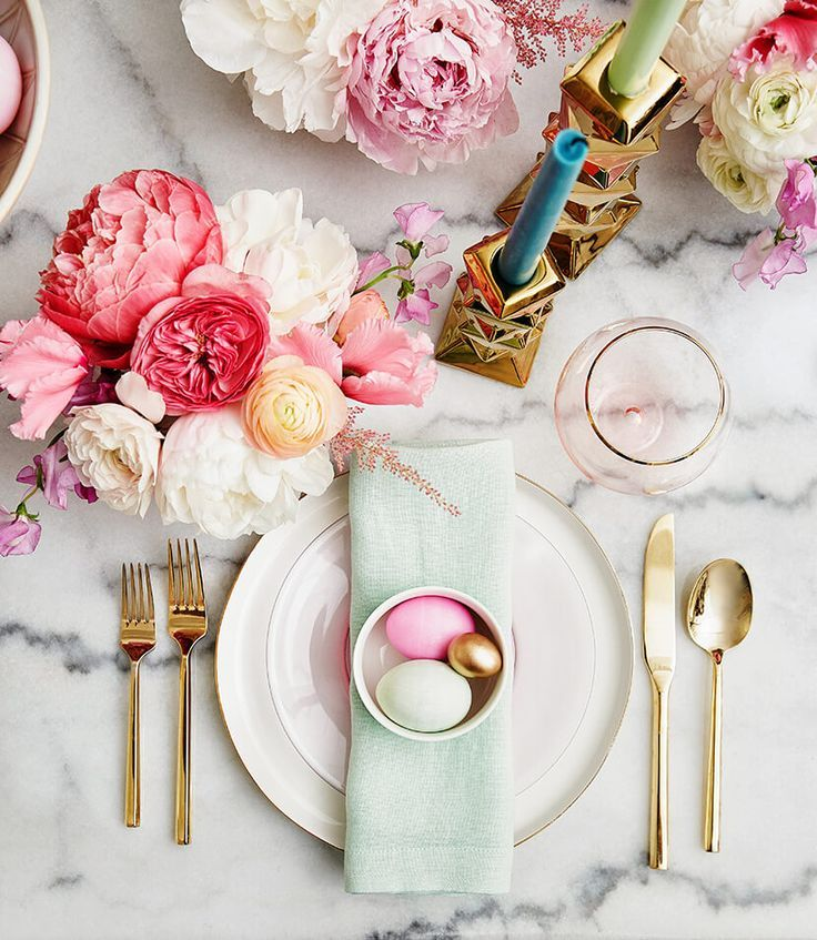 Table Setting for Easter Brunch  sc 1 st  LoveThisPic & Table Setting For Easter Brunch Pictures Photos and Images for ...