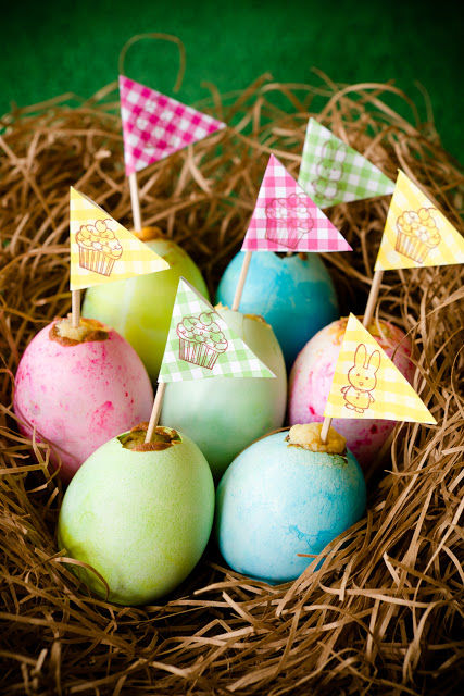 Easter Egg Cupcakes With Yolk Centers Pictures, Photos, and Images for ...