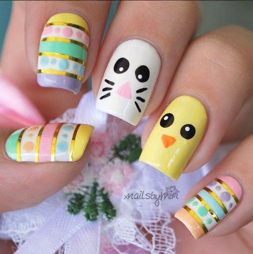 Easter Nail Art Pictures Photos And Images For Facebook Tumblr