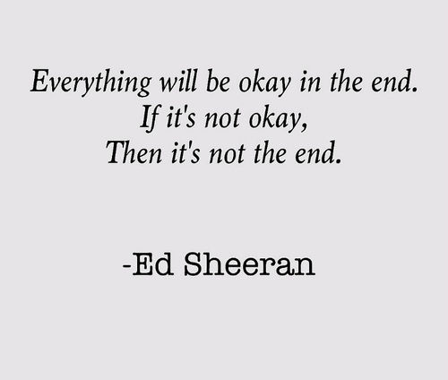 everything will be okay in the end pictures photos and