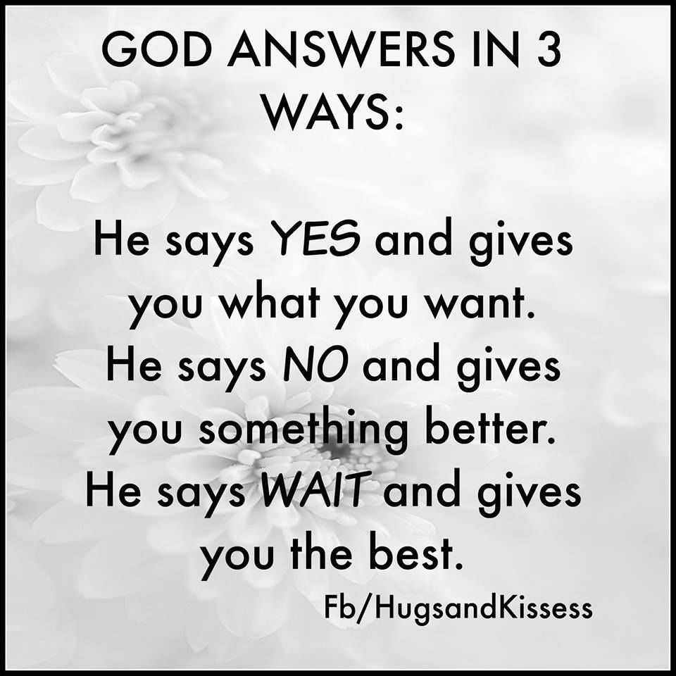 God Answers Pictures, Photos, and Images for Facebook