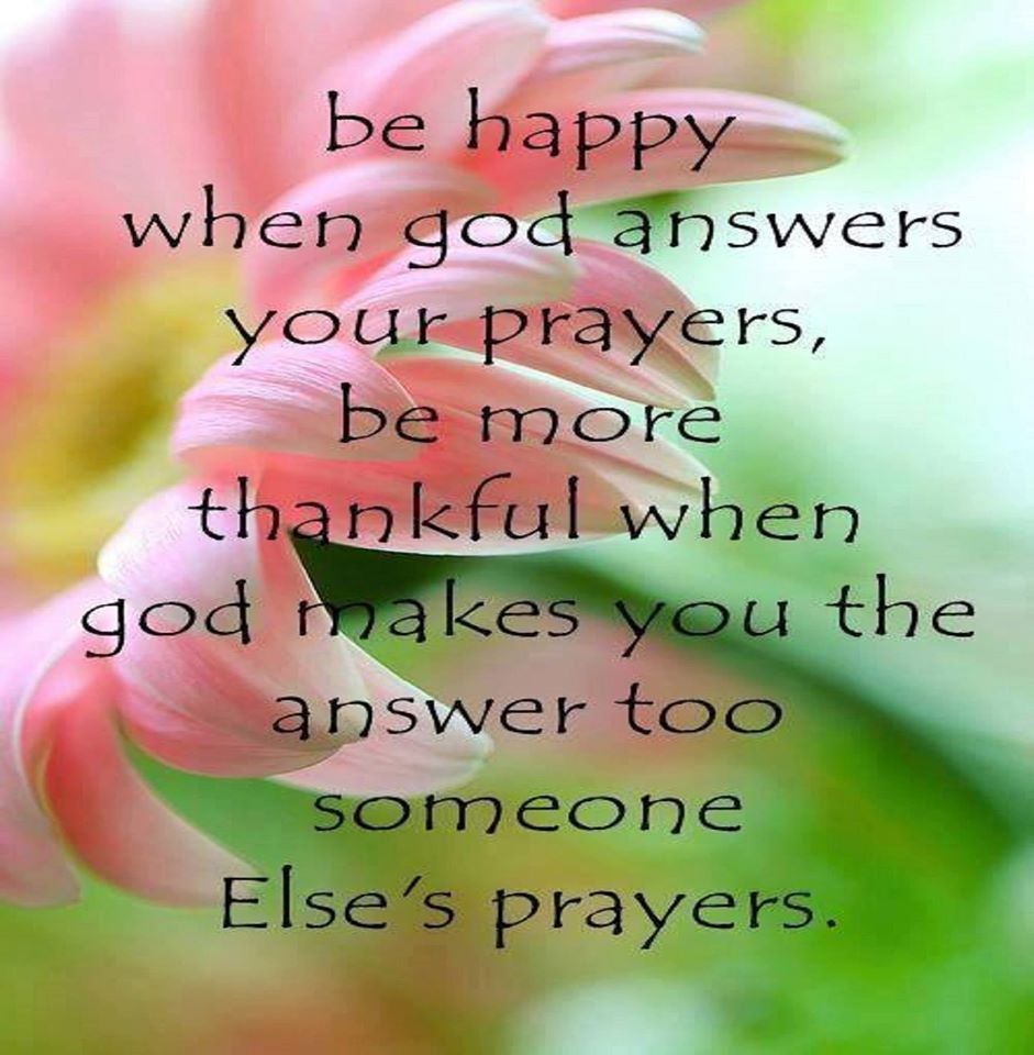 Be Happy When God Answers Your Prayers Pictures Photos