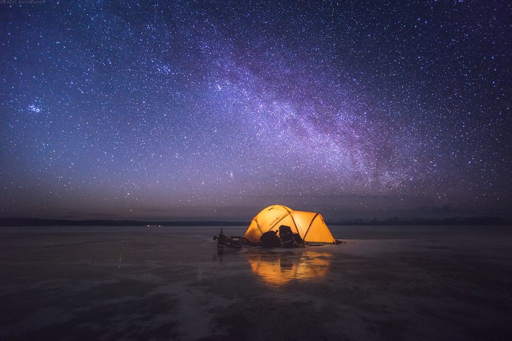 Camping Above The Stars Pictures Photos And Images For
