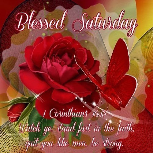 Blessed Saturday Corinthians Quote Pictures, Photos, and