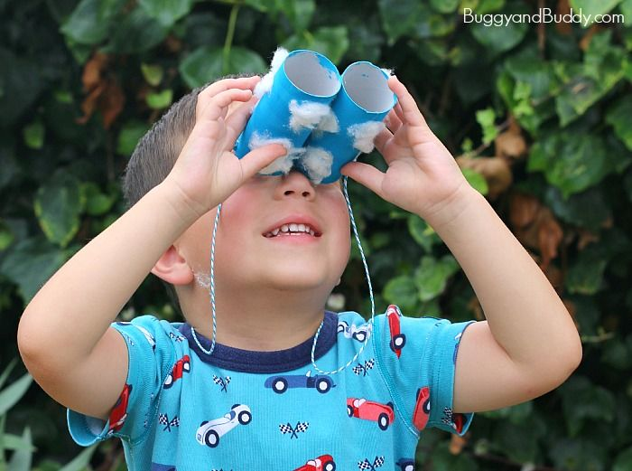 Toilet Paper Roll Binoculars Pictures Photos And Images