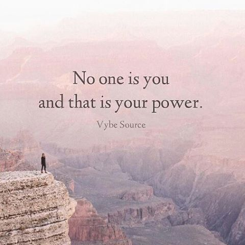 Výsledek obrázku pro no one is you and that is your power