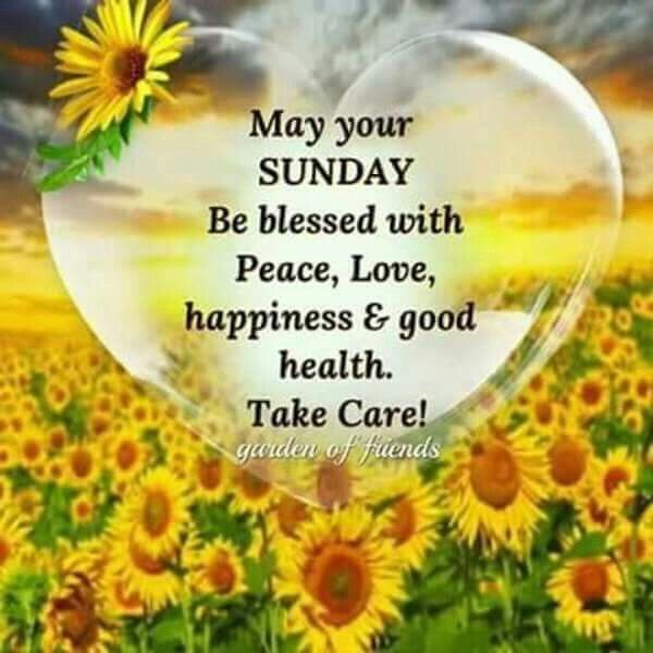 may your sunday be blessed with peace and pictures