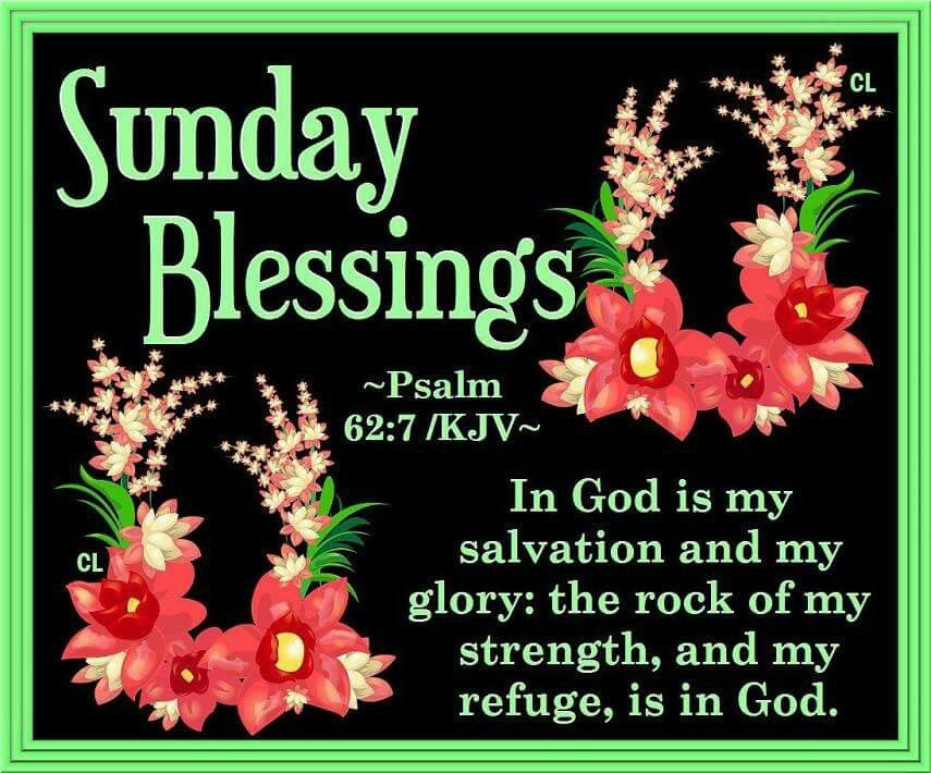 Sunday Blessings Quotes Magnificent Sunday Blessings Psalm 4848 Pictures Photos And Images For