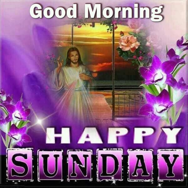 Good Morning Happy Sunday Jesus Image Pictures Photos And Images