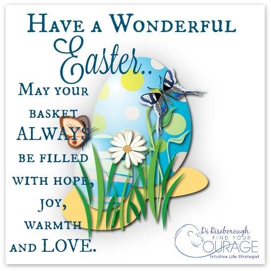 Happy Easter Pictures With Quotes: Have A Wonderful Easter May Your Basket Be Filled With