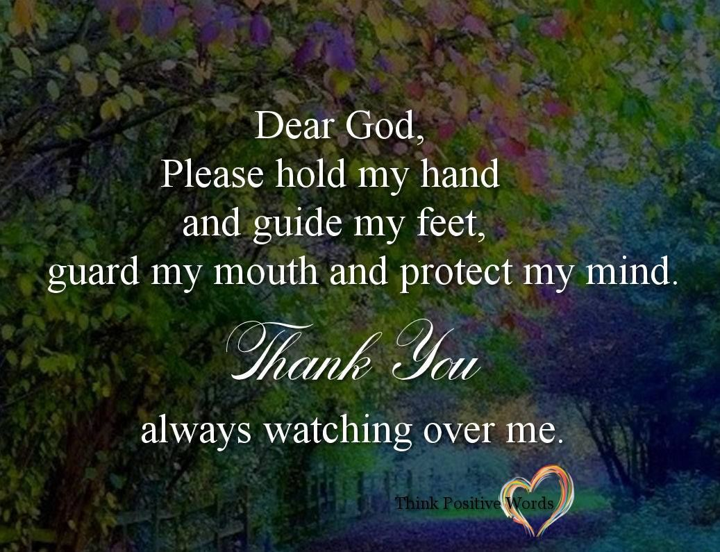 Dear God Please Watch Over Me Pictures, Photos, And Images