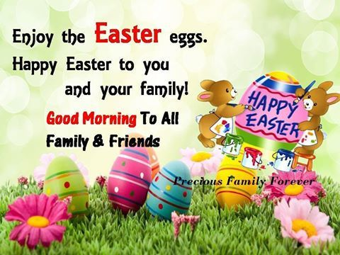 Good Morning Happy Easter To All My Family And Friends Pictures
