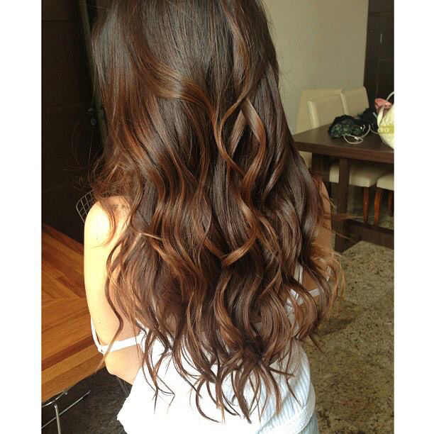 Long Brown Wavy Hair Pictures, Photos, and Images for Facebook, Tumblr ...