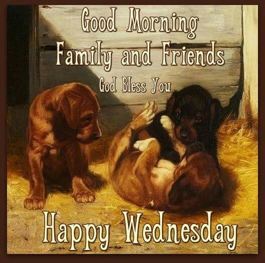 Good Morning Family And Friends. God Bless You. Happy