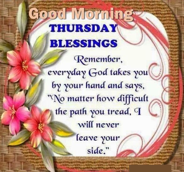 Thursday Blessings Good Morning Quote Pictures, Photos