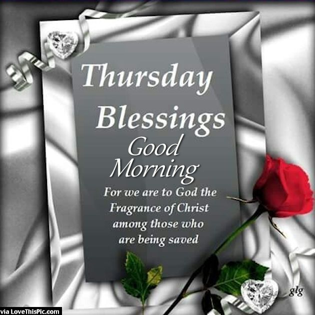 Good Morning Christian Quotes: Thursday Blessings Good Morning Religious Quote Pictures