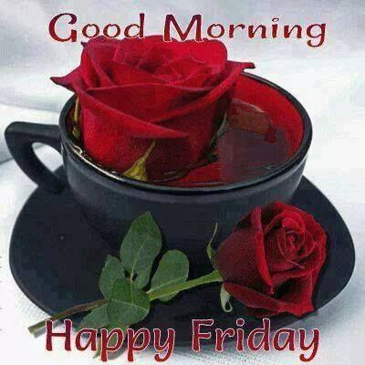 good morning happy friday roses pictures photos and images for facebook tumblr pinterest. Black Bedroom Furniture Sets. Home Design Ideas