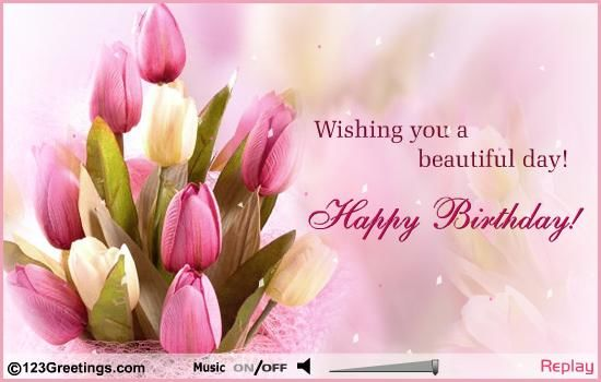 Wishing You A Beautiful Day Happy Birthday Pictures