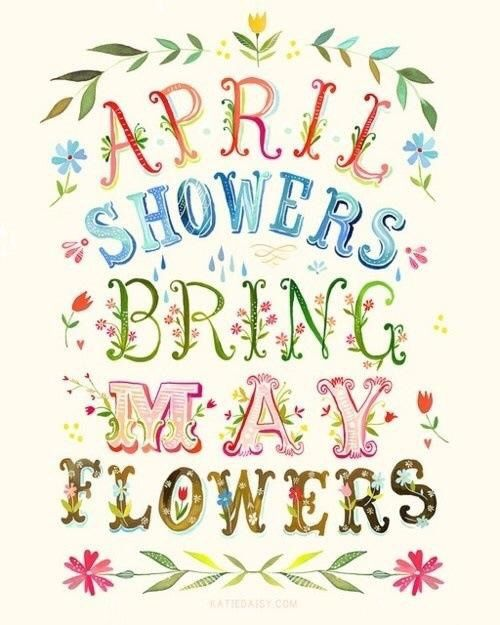 Clip Art Rainy Day Quotes: April Showers Bring May Flowers Pictures, Photos, And