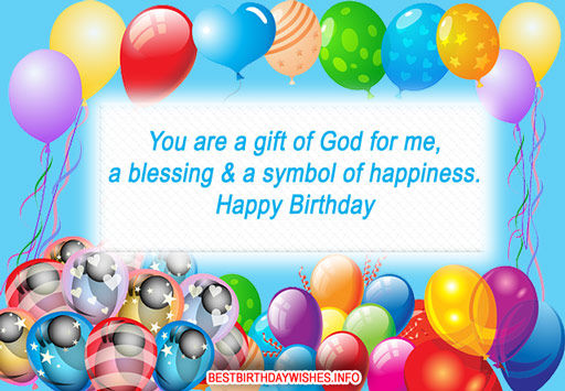 You are a gift of god for me a blessings a symbol of happiness you are a gift of god for me a blessings a symbol of happiness happy birthday negle Gallery