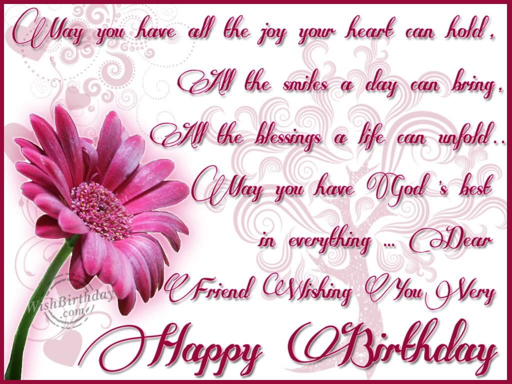 Dear Friend Wishing You Very Happy Birthday Pictures ...