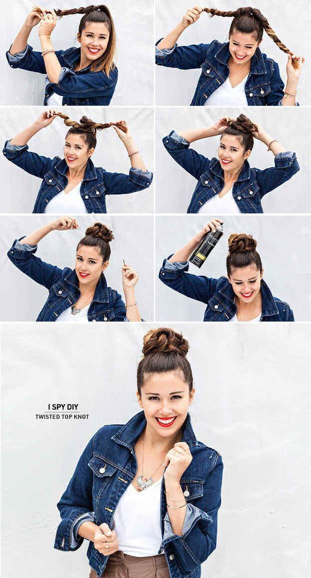 Twisted Top Knot Bun Pictures Photos And Images For Facebook