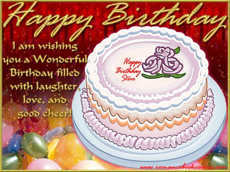 happy birthday i am wishing you a wonderful birthday filled with laughter love and good cheer cake graphic