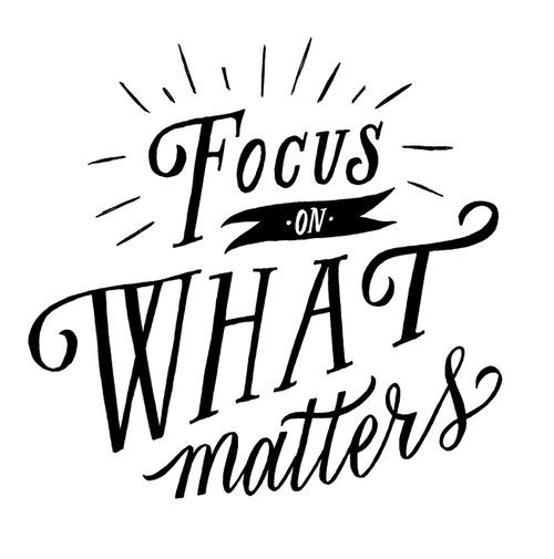 What Really Matters In Life Quotes: Focus On What Matters Pictures, Photos, And Images For