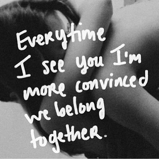 0aa2626c7 Im Convinced We Belong Together Pictures, Photos, and Images for ...