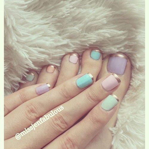 Pastel Nails Pictures, Photos, And Images For Facebook