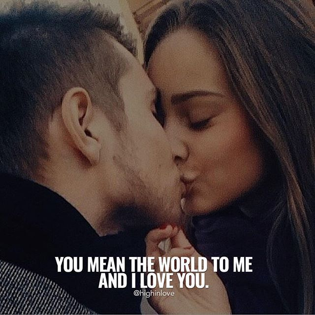 You Mean The World To Me And I Love You Pictures, Photos
