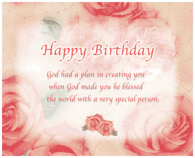 Happy Birthday – God Had A Plan In Creating You When God ...