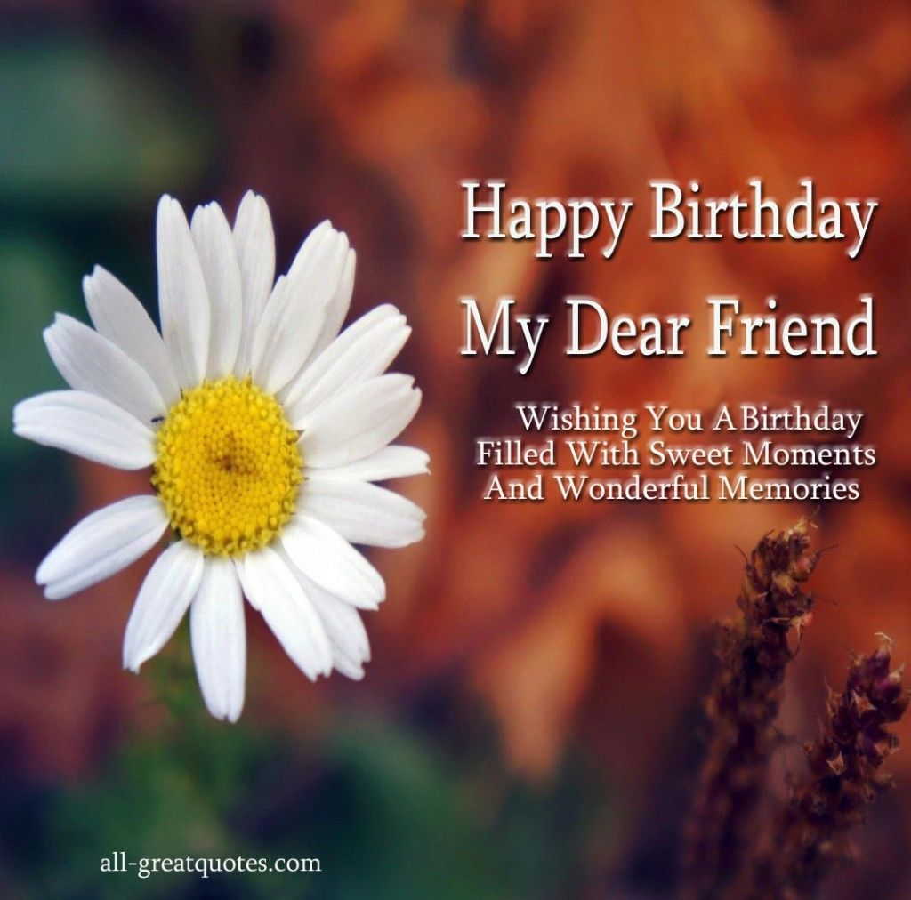 Happy Birthday My Dear Friend Pictures, Photos, And Images