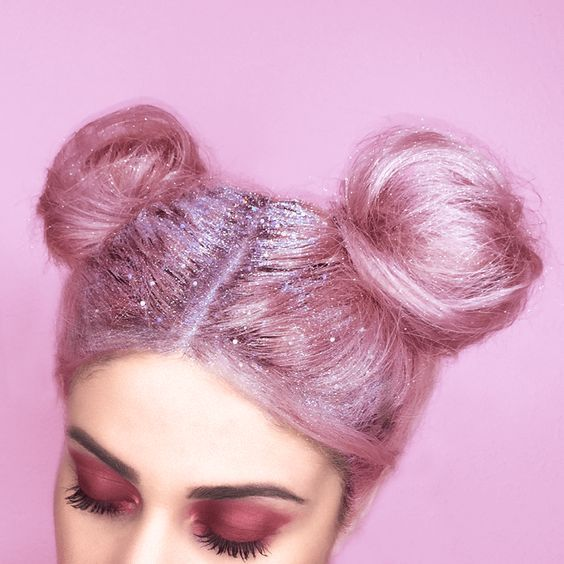 pink glitter buns pictures photos and images for facebook tumblr