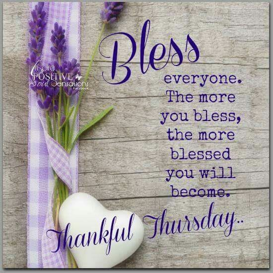 Thankful Thursday Quotes: Bless Everyone. Thankful Thursday Pictures, Photos, And
