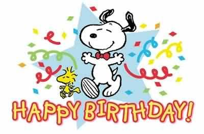 happy birthday snoopy graphic pictures photos and images for