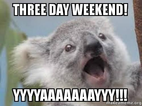 Funny Memes For Labor Day : Three day weekend yaaaaayyyyy pictures photos and