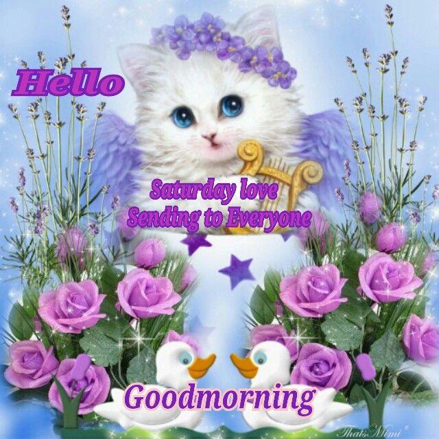 Good Morning Everyone Saturday : Good morning sending saturday love to everyone pictures