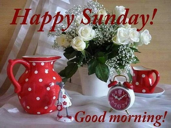 Happy Sunday, Good Morning Pictures, Photos, And Images